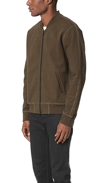 Reigning Champ Heavy Weight Terry Varsity Jacket