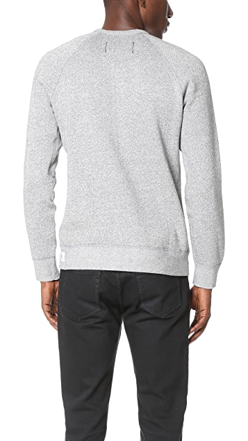 Reigning Champ Tiger Fleece Crew Sweatshirt