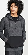 Reigning Champ Tiger Fleece Half Zip Hoodie