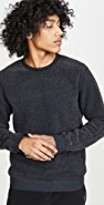 Reigning Champ Polartec Fleece Crew Neck Sweatshirt