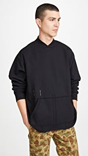 Reigning Champ Heavyweight Terry Collared Sweatshirt