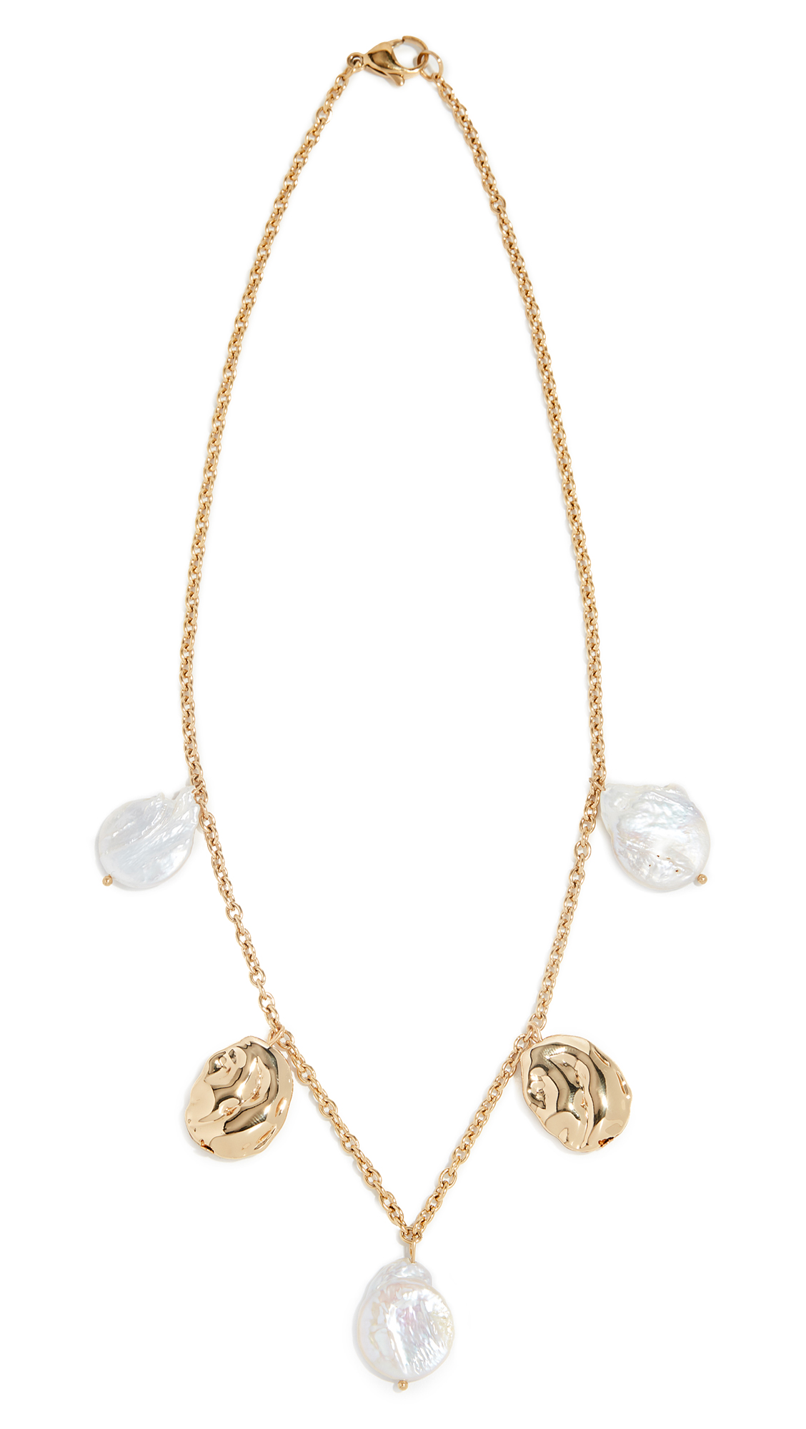 RELIQUIA Genius Necklace in Yellow Gold/Pearl