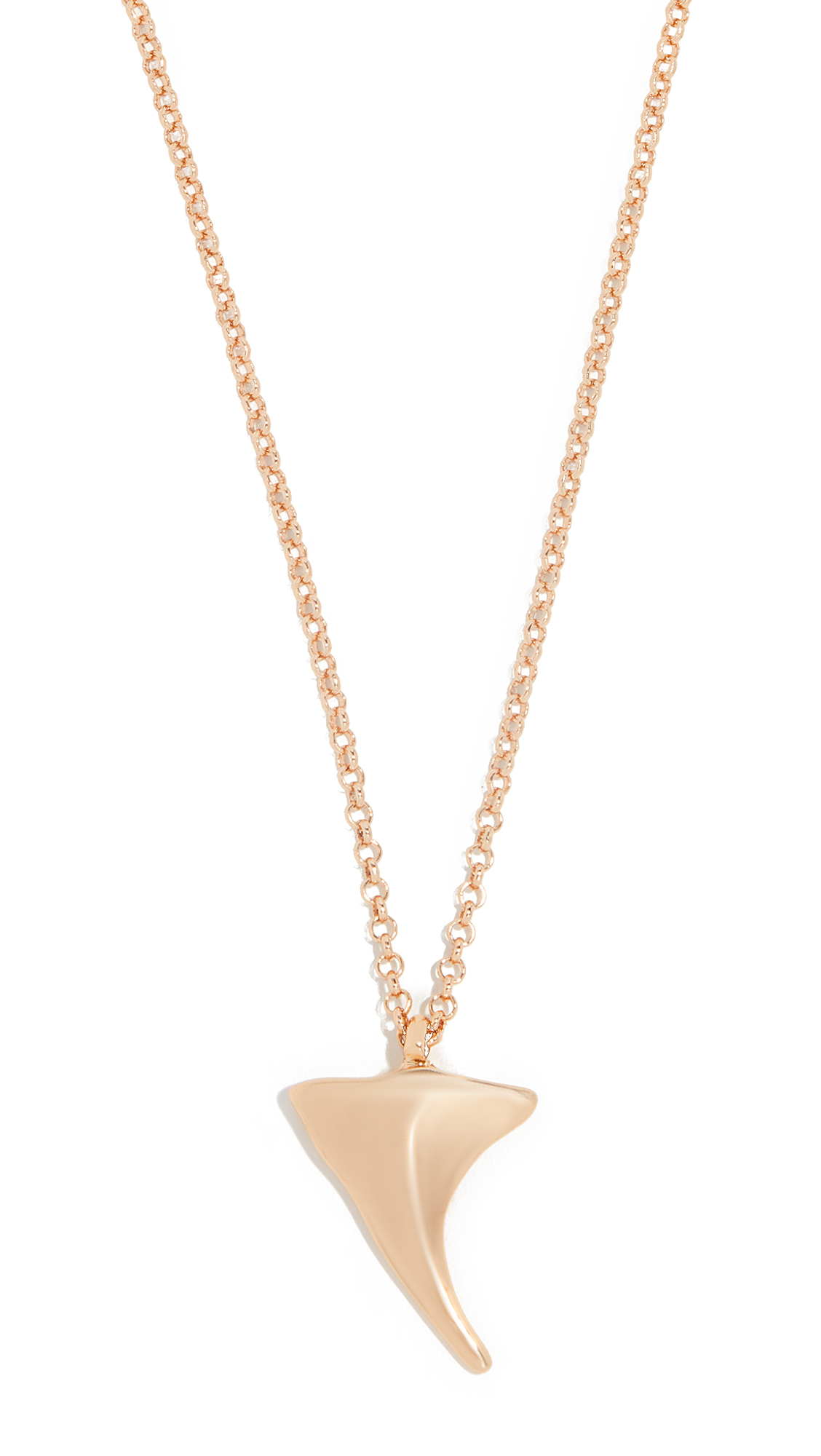 RELIQUIA Shark Tooth Necklace in Yellow Gold
