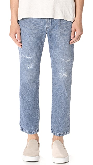 Remi Relief Denim Easy Pants