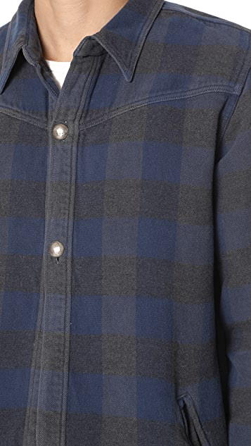 Remi Relief CPO Check Jacket