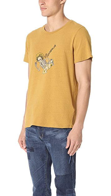 Remi Relief Recycled Cotton Skull Tee