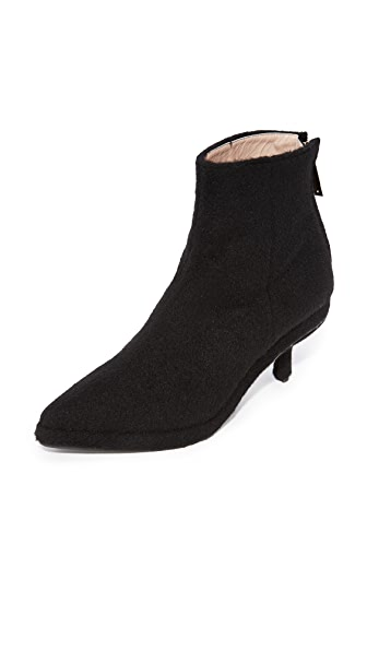 Reike Nen Block Booties In Black