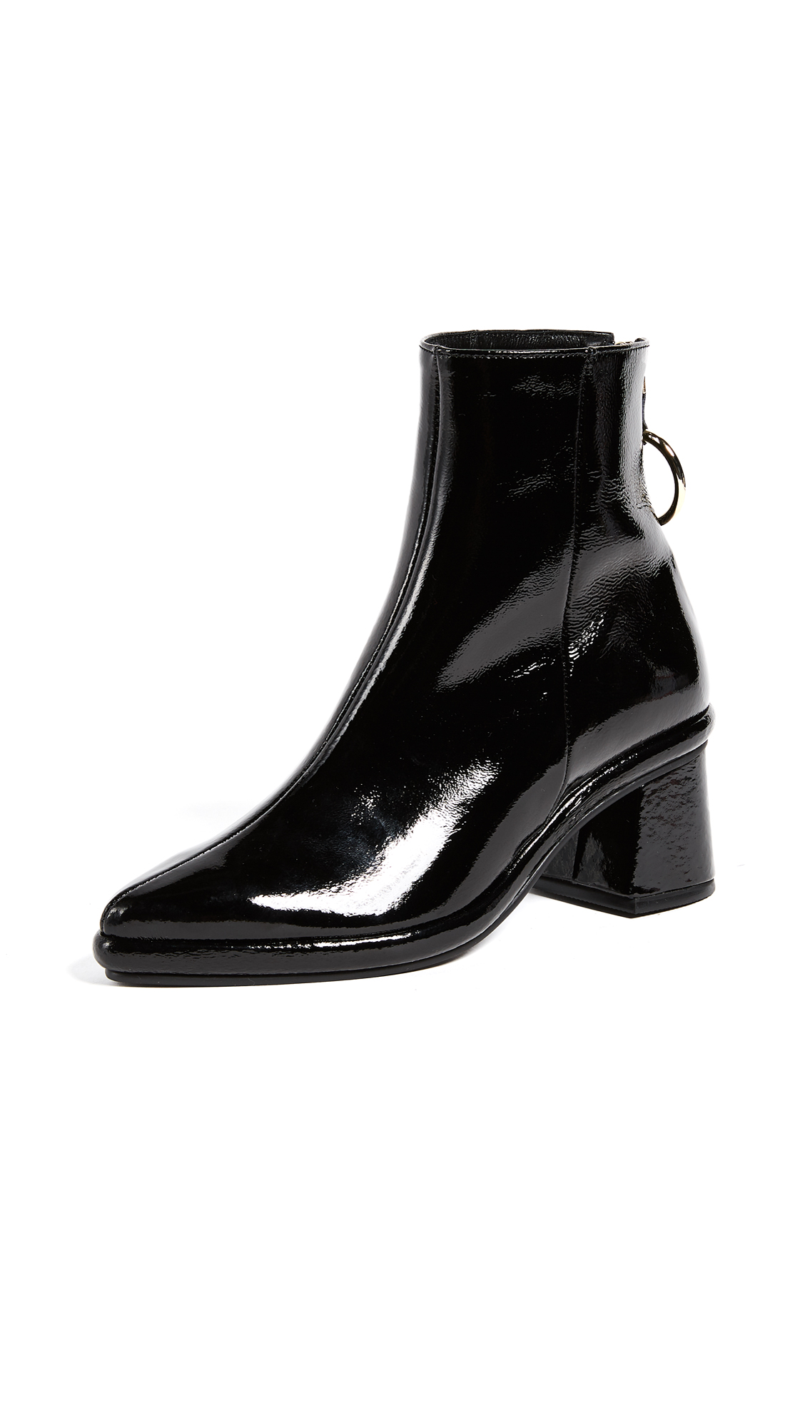 Reike Nen Ring Mid Booties - Black