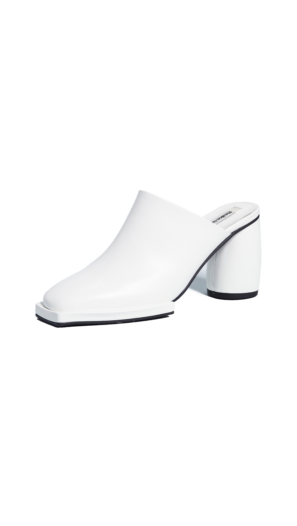 Reike Nen Pointed Toe Mules - White