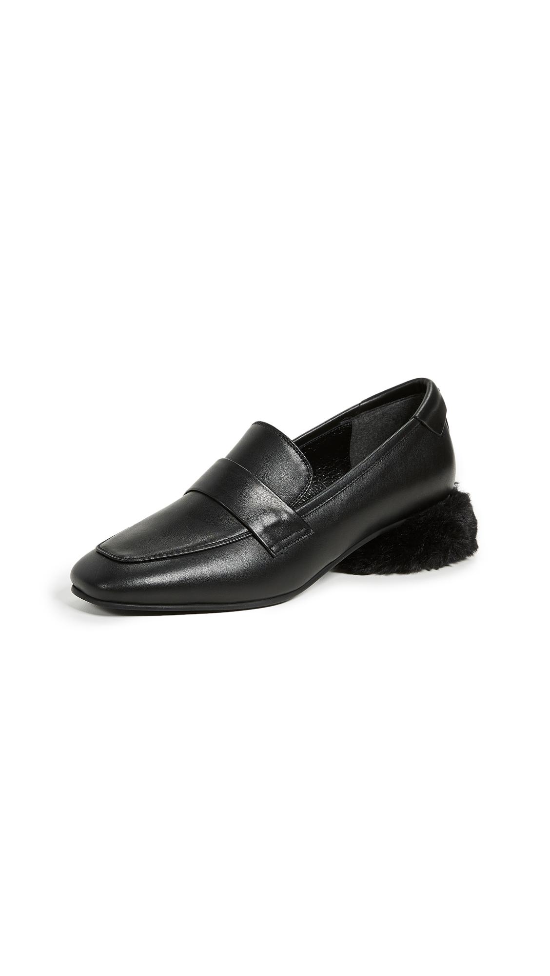 Reike Nen Moc Strap Loafers - Black