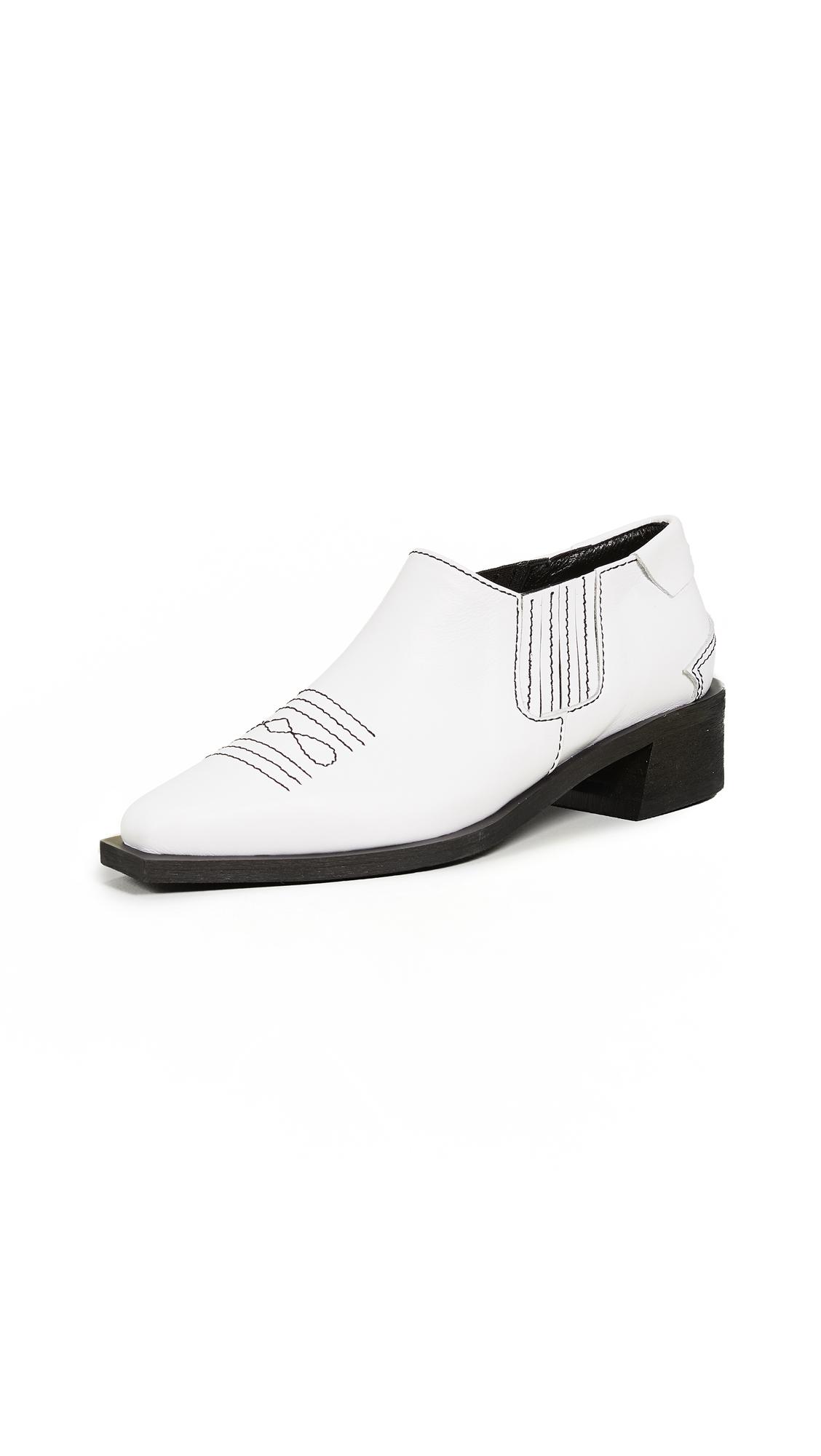 Reike Nen Western Shootie Boots - White
