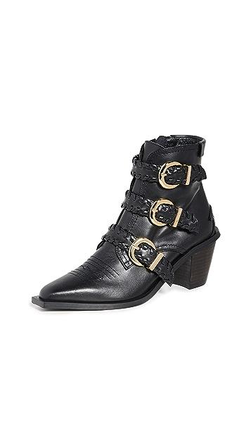 Reike Nen Turnover Strap Walker Boots