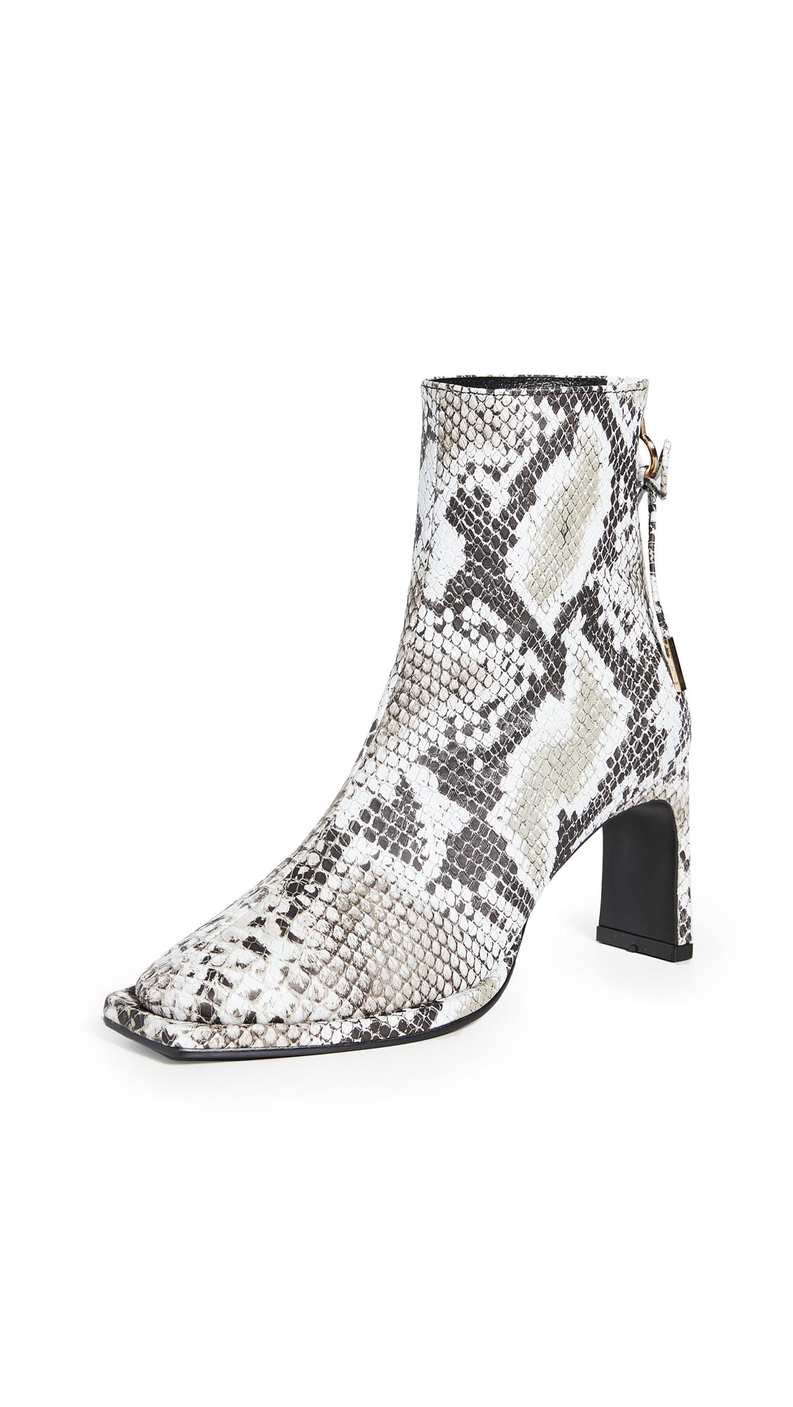 Reike Nen Ribbon Square Thin Boots - 60% Off Sale