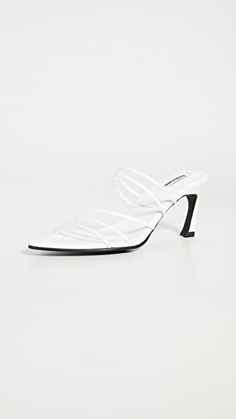 Reike Nen Low heels FIVE STRINGS POINTED SANDALS