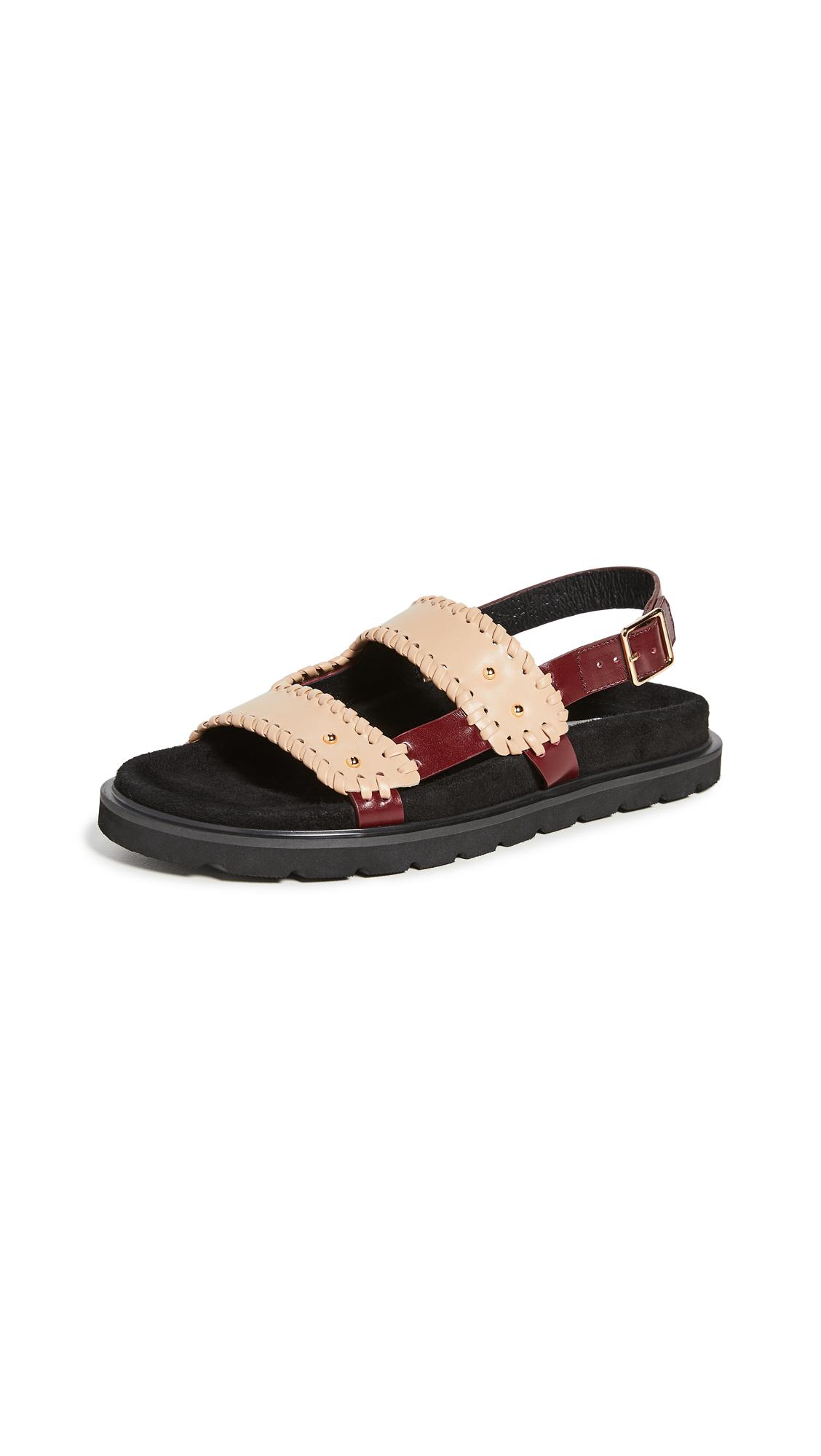 Buy Reike Nen Turnover Mold Sandals online, shop Reike Nen