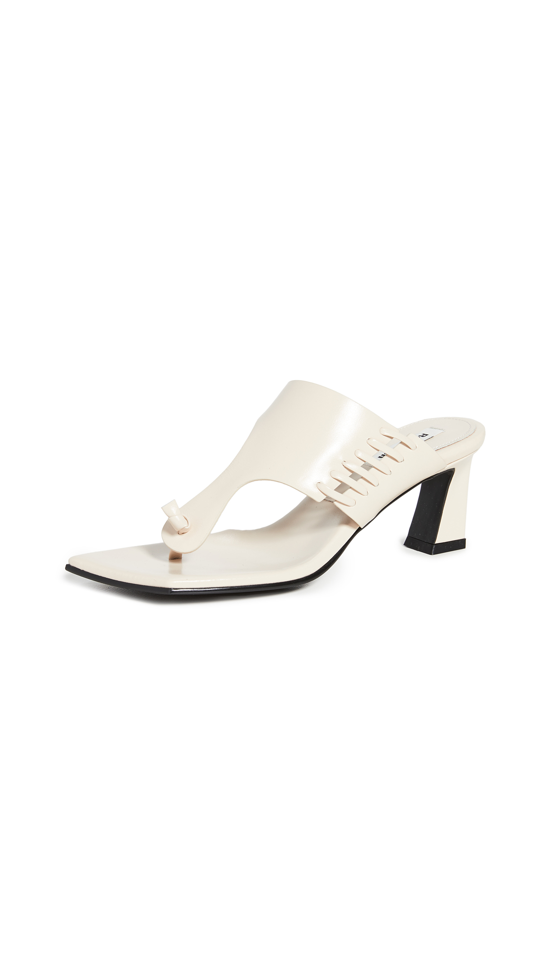 Reike Nen Stitch Flip-Flop Heels – 50% Off Sale