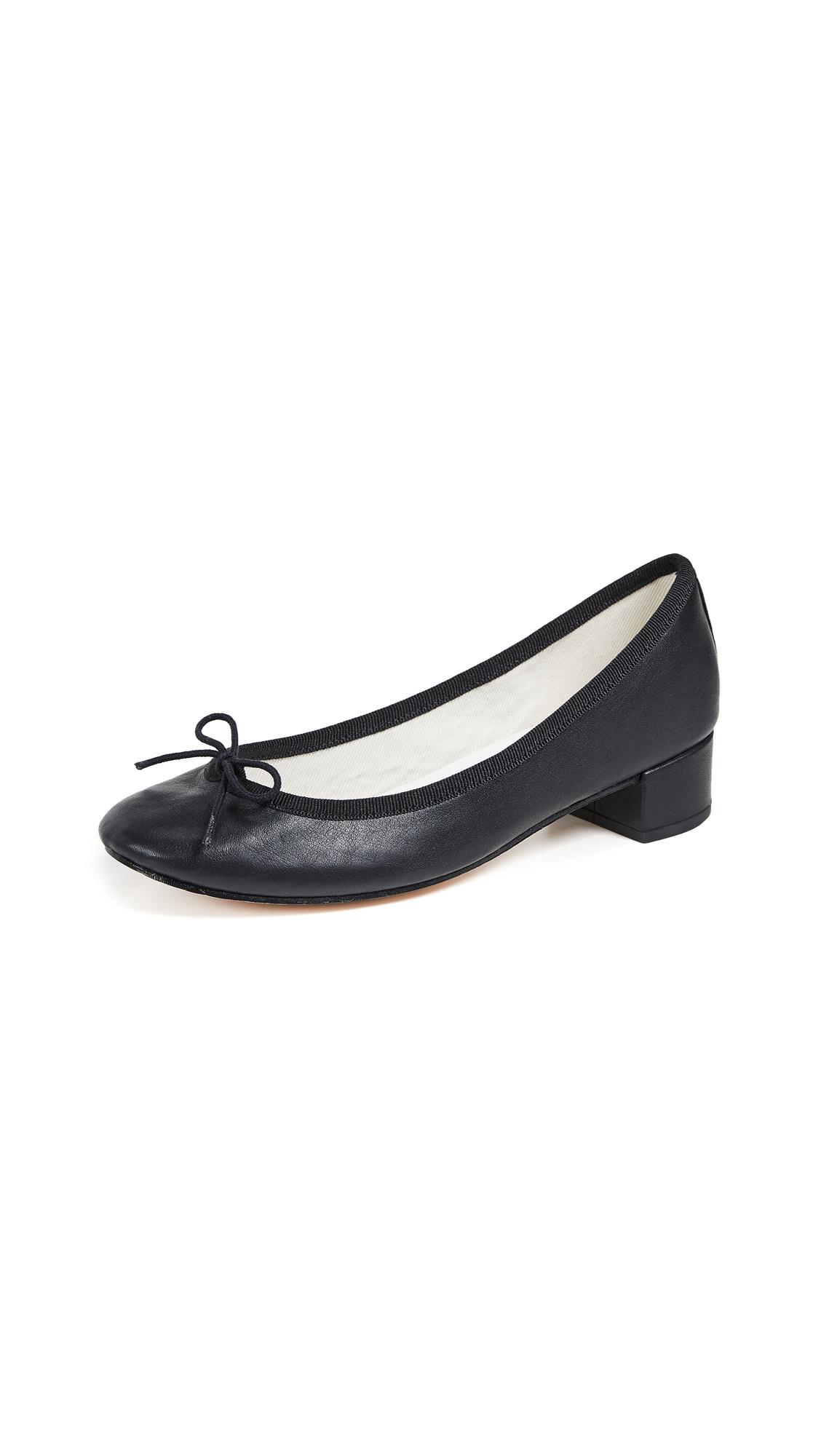 Repetto Camille Ballerina Heels - Noir