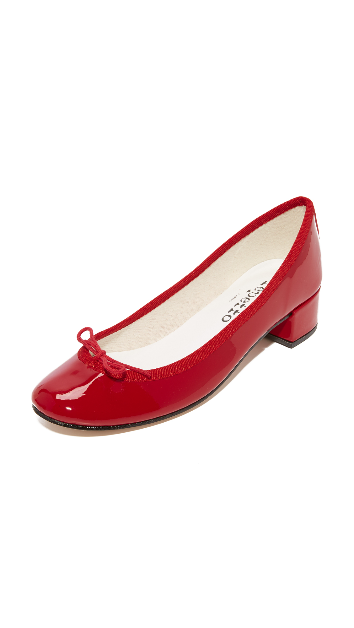 Repetto Camille Ballerina Heels - Flamme