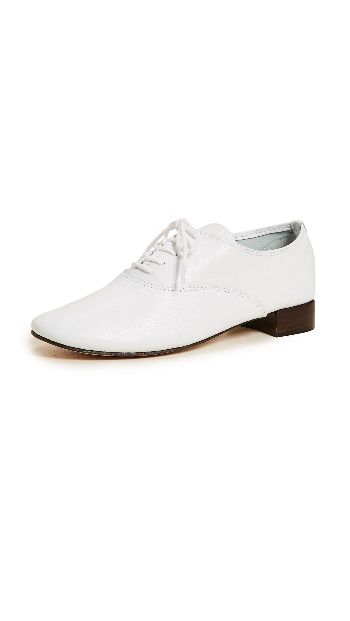 Repetto Zizi Oxfords - White