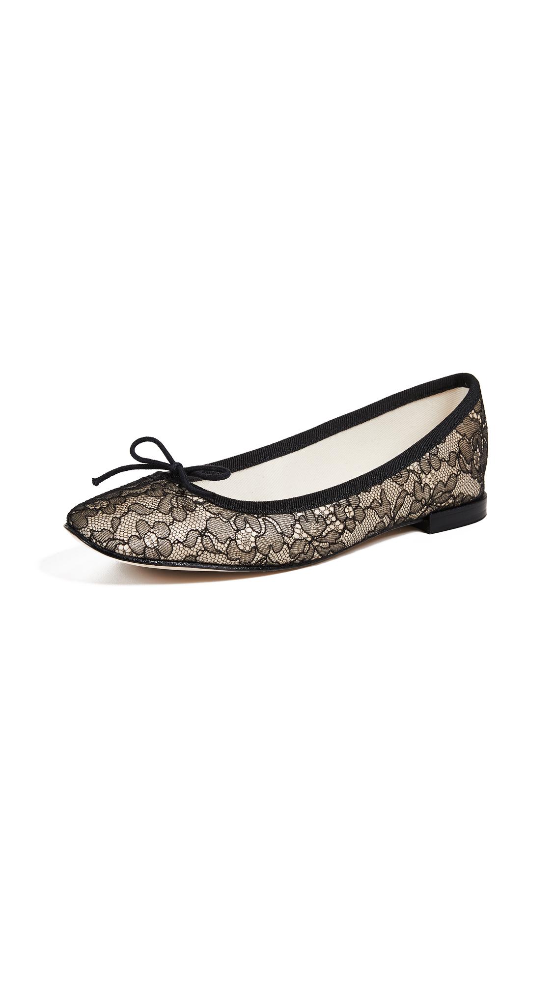 Repetto Cendrillon Ballet Flats - Black