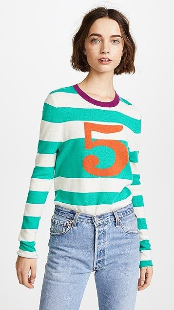 Replica Los Angeles Five Stripe Sweater