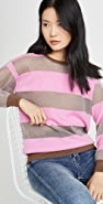 Replica Los Angeles Candy Stripe Cashmere Sweater