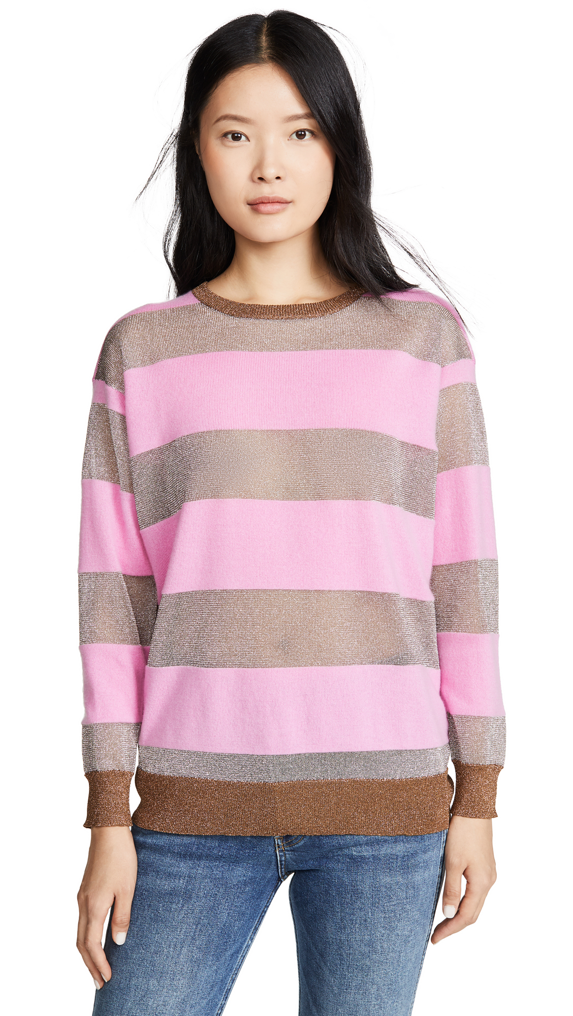 Buy Replica Los Angeles online - photo of Replica Los Angeles Candy Stripe Cashmere Sweater