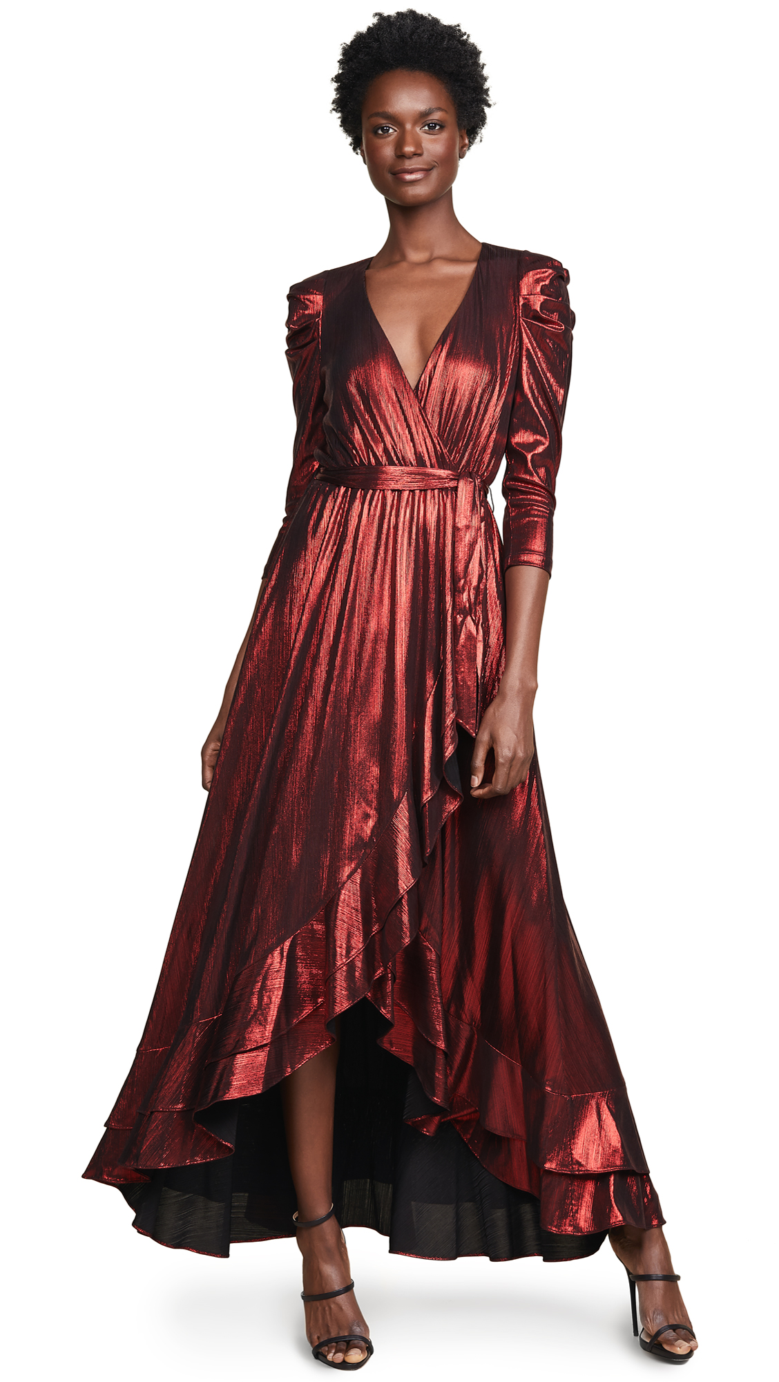 RETROFÉTE Flora Dress in Red