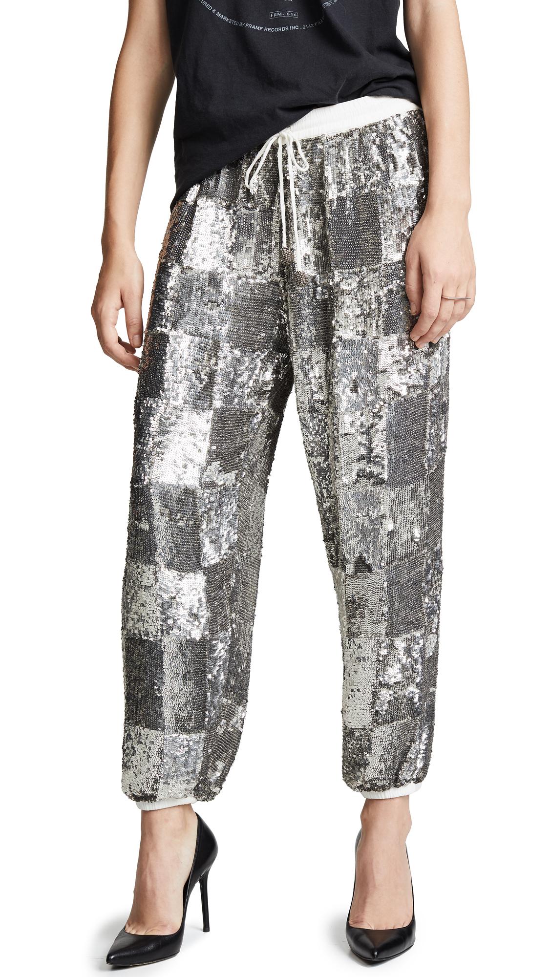 RETROFÉTE Stacia Pants in Silver