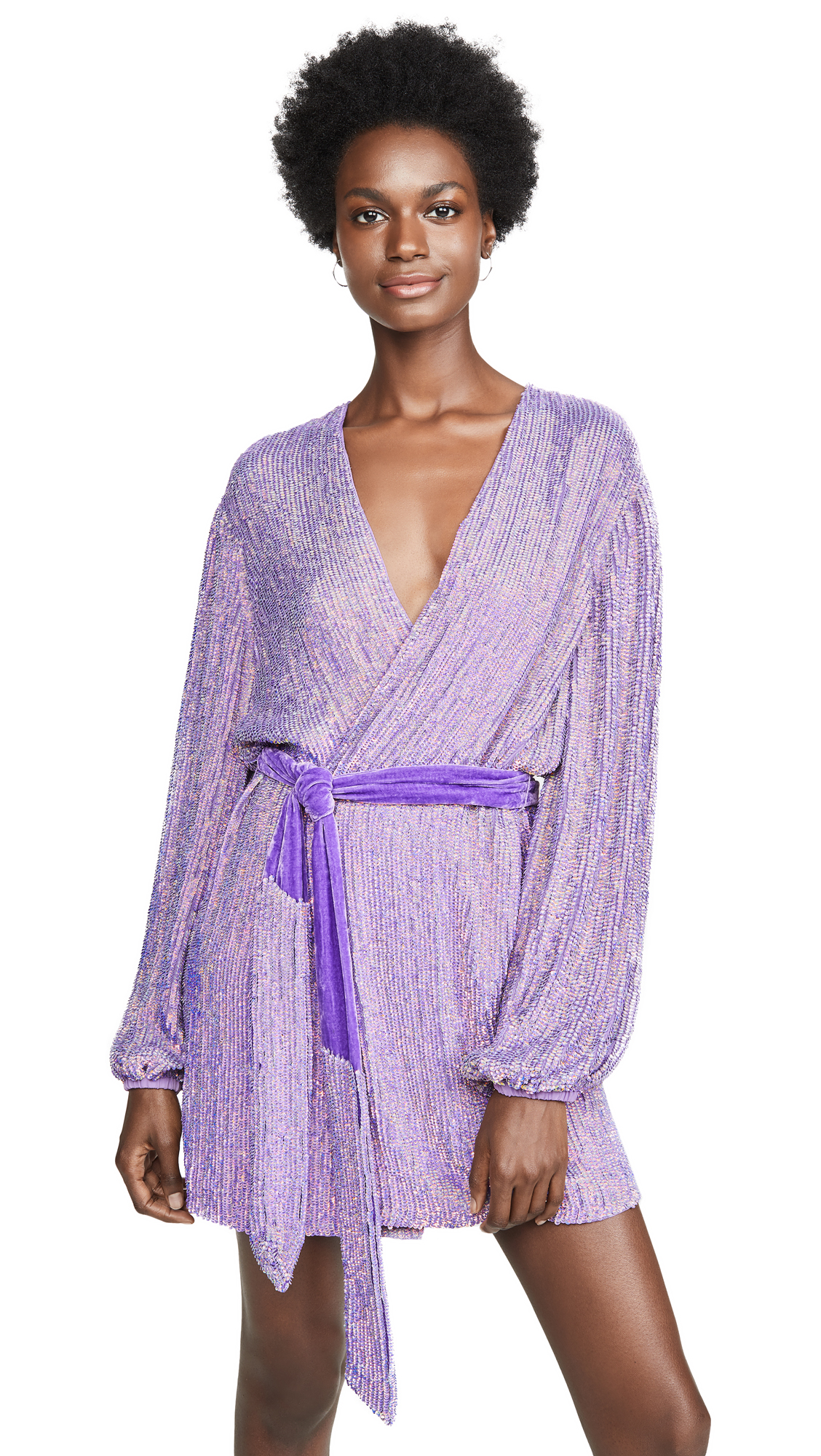 Buy Retrofete online - photo of Retrofete Gabrielle Sequin Robe