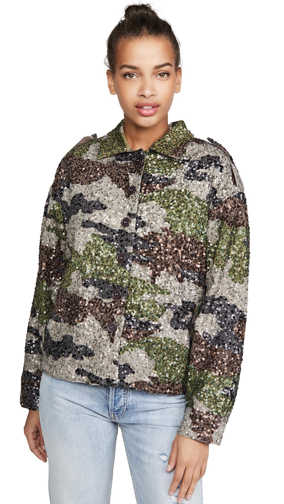 Buy Retrofete Idan Sequin Jacket online beautiful Retrofete Jackets, Coats, Coats