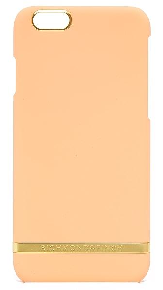 Richmond & Finch Peach Satin iPhone 6 / 6s Case