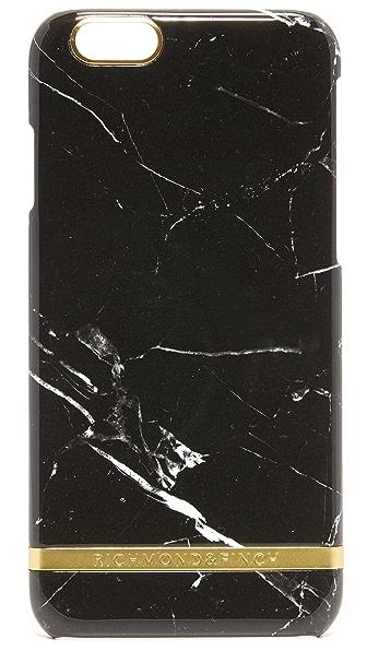 Richmond & Finch Black Marble iPhone 6 / 6s Case