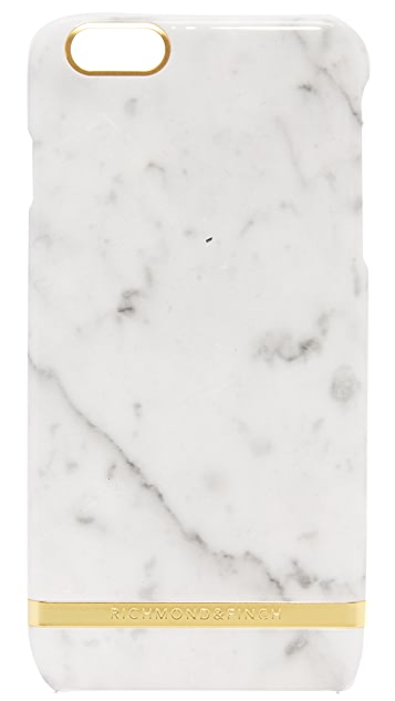 Richmond & Finch Carrera Marble iPhone 6 Plus / 6s Plus Case