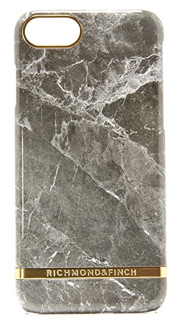Richmond & Finch Grey Marble iPhone 7 / 8 Case
