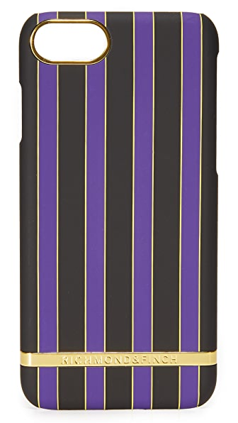 Richmond & Finch Acai Stripes iPhone 7 Case
