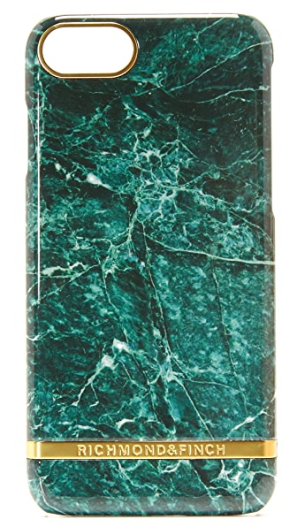 Richmond & Finch Green Marble iPhone 7 Case - Green Marble