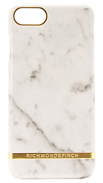 Richmond & Finch White Marble iPhone 7 Case - White Marble