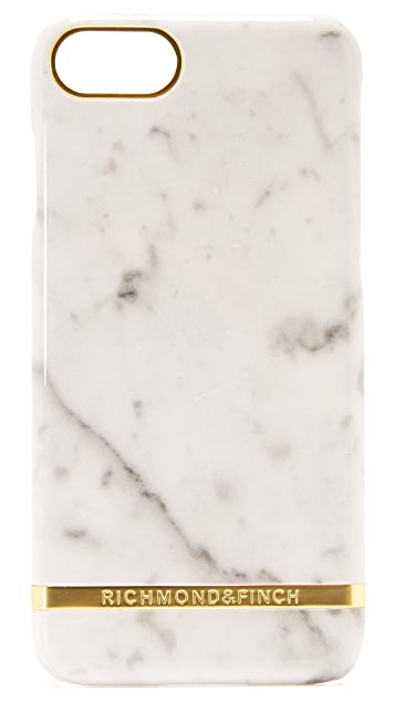Richmond & Finch White Marble iPhone 7 / 8 Case