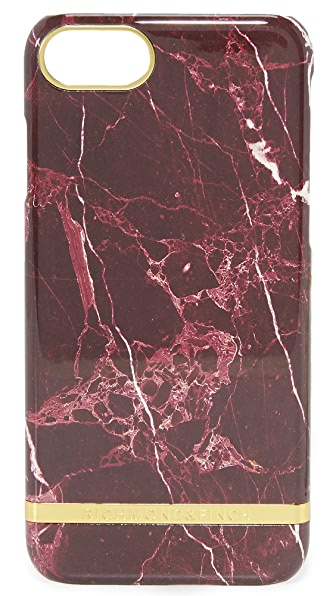 Richmond & Finch Red Marble iPhone 7 Case