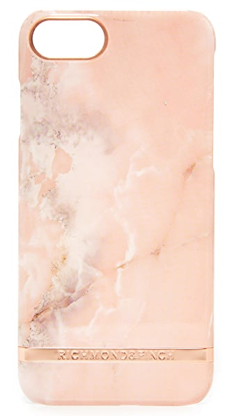 Richmond & Finch Pink Marble iPhone 7 Case