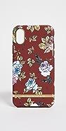 Richmond & Finch 红色花卉 iPhone 手机壳