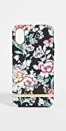 Richmond & Finch Black Floral iPhone Case