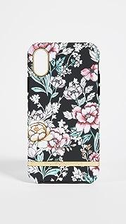 Richmond & Finch Black Floral iPhone Case