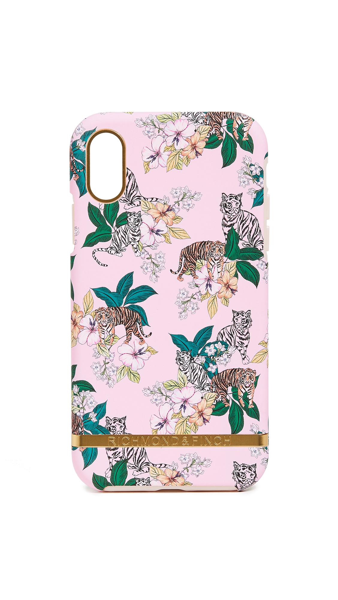 RICHMOND & FINCH Pink Tiger Iphone Xr Case