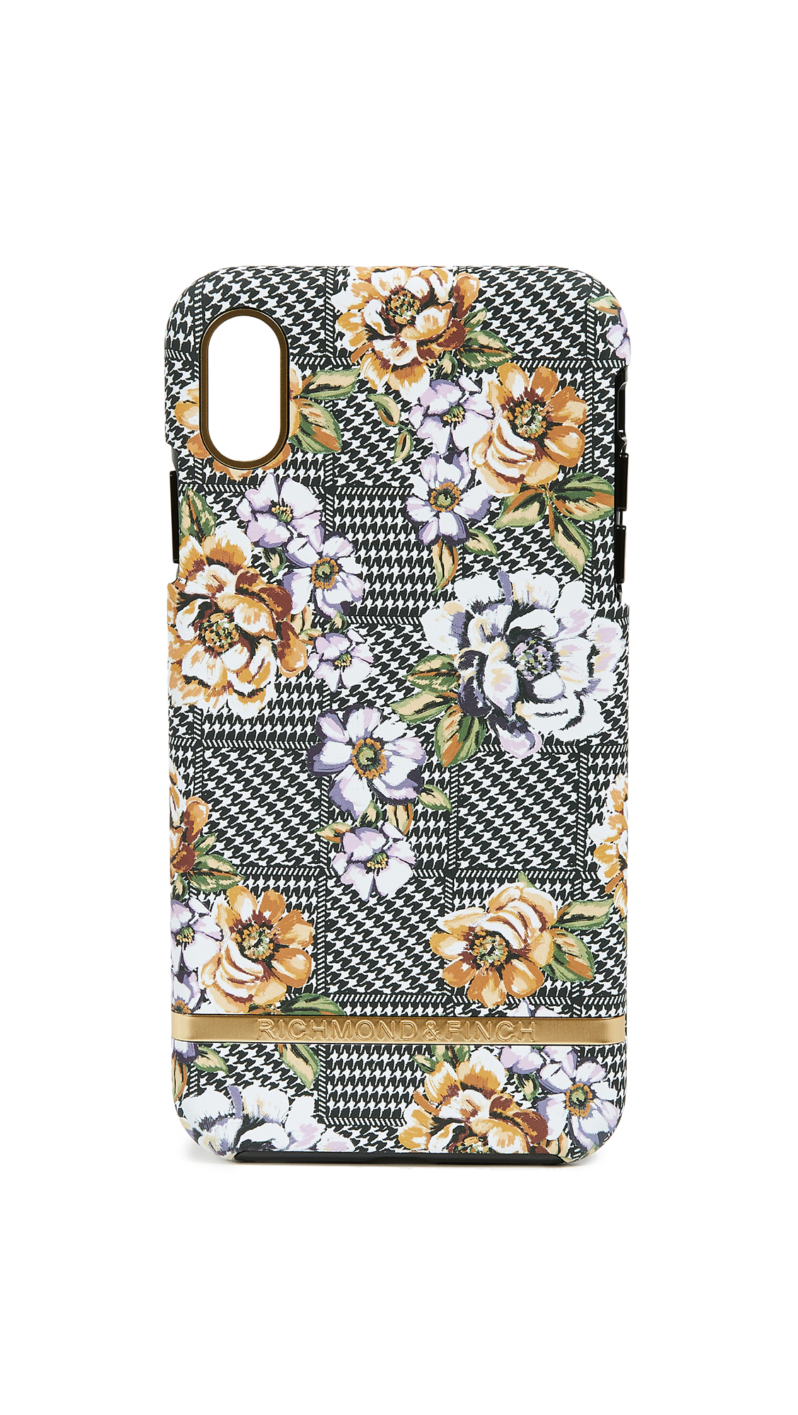 RICHMOND & FINCH Floral Tweed Iphone Xs Max Case