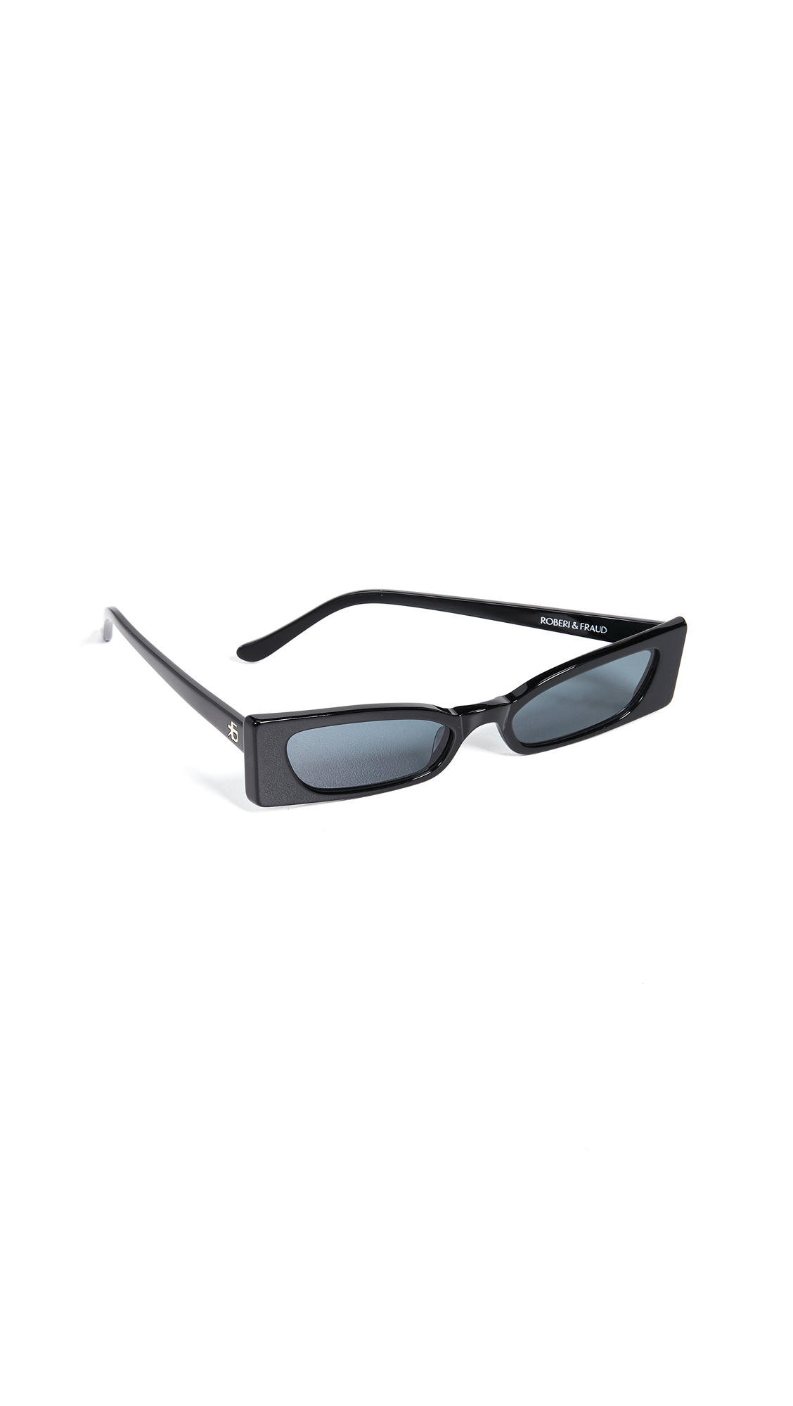 ROBERI & FRAUD Geraldine Sunglasses in Black