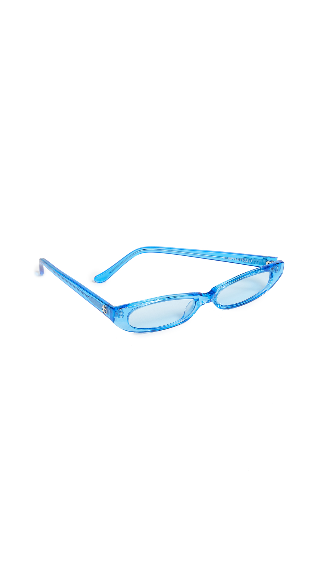 ROBERI & FRAUD Frances Sunglasses in Blue
