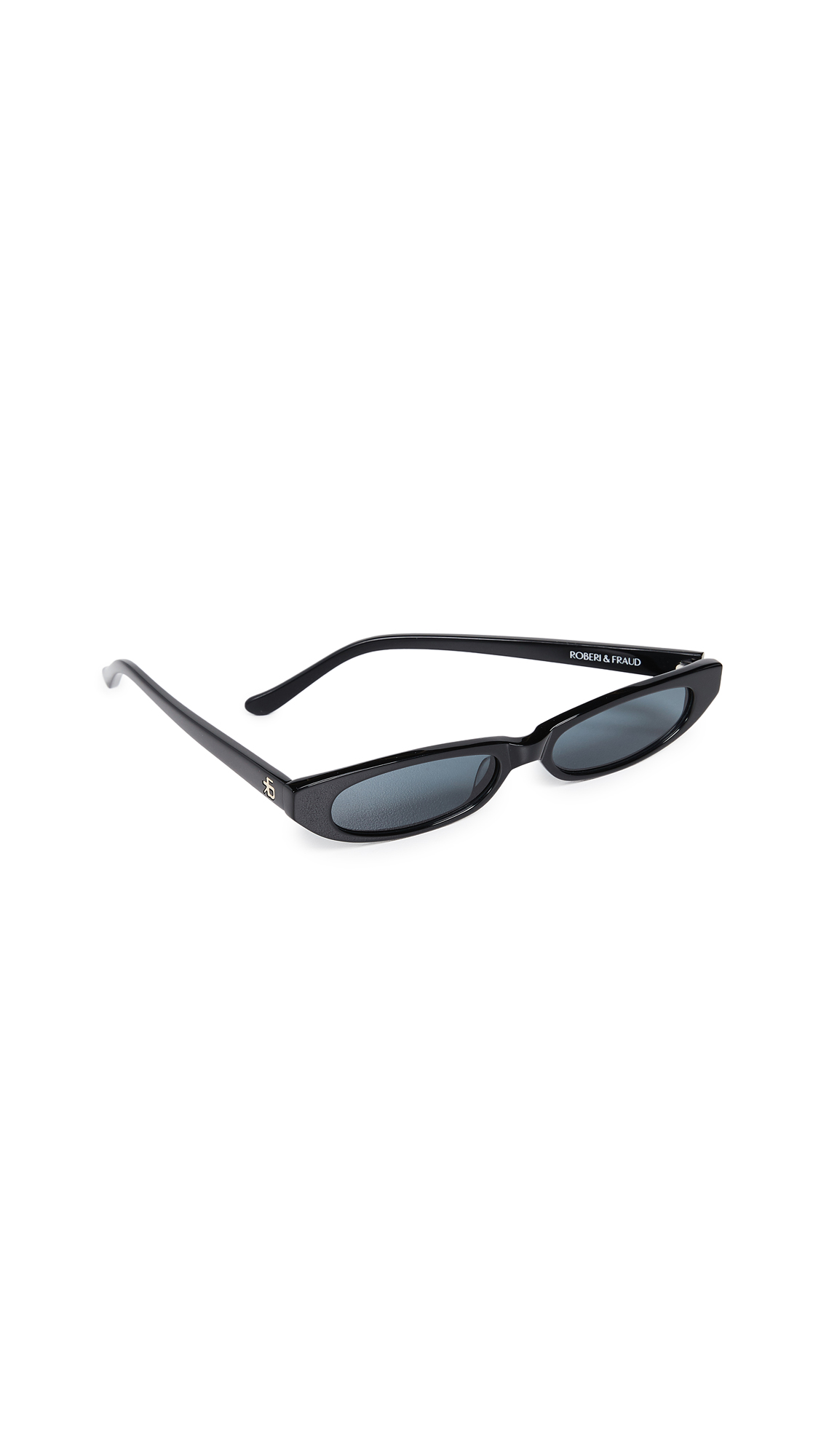 ROBERI & FRAUD Frances Sunglasses in Black