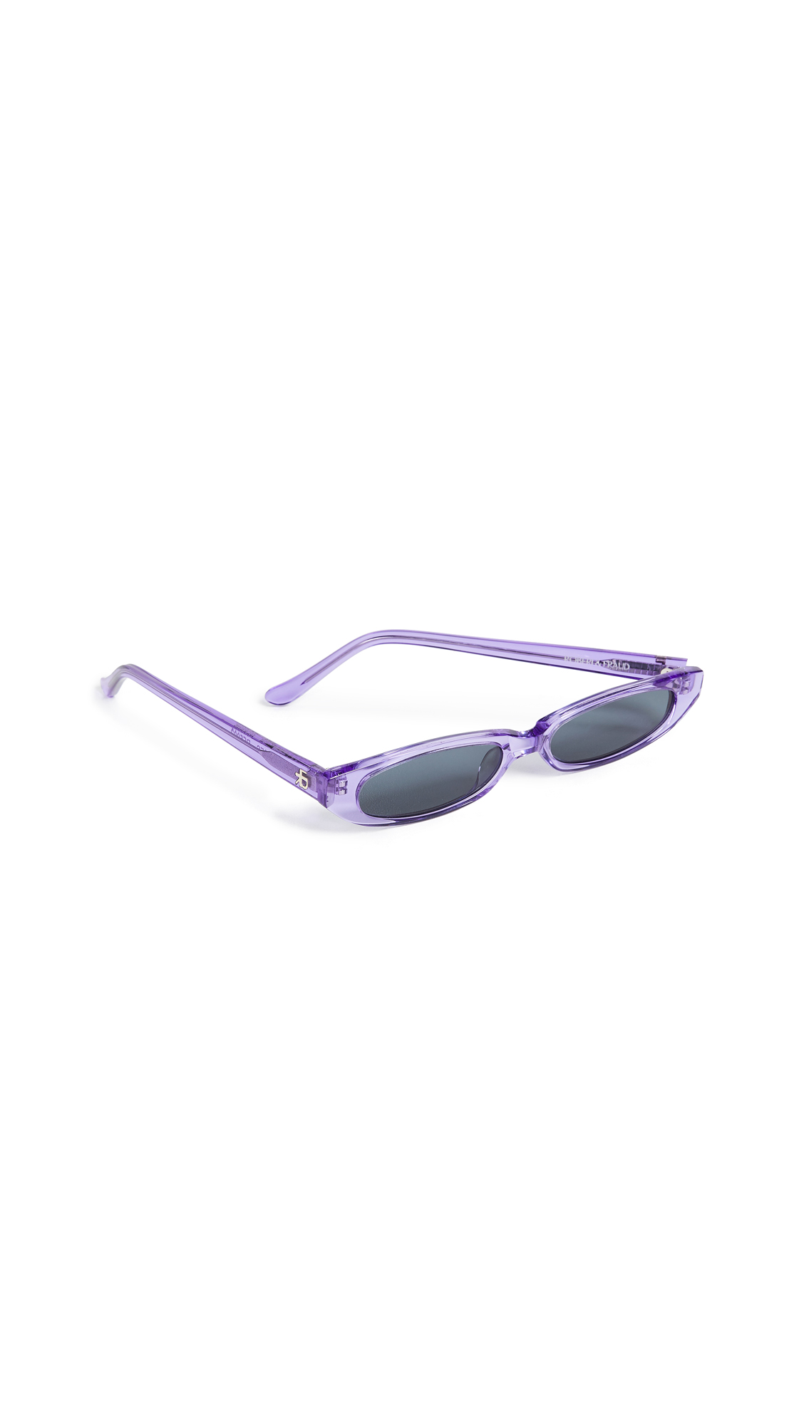 ROBERI & FRAUD Frances Sunglasses in Purple